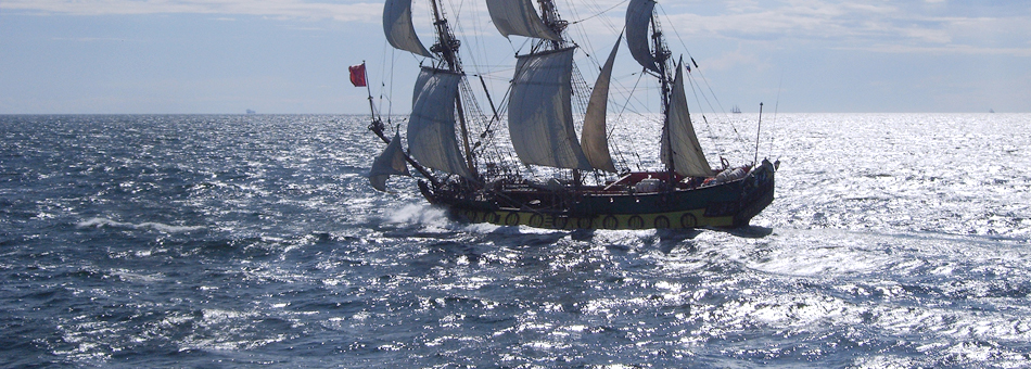 Sail with us aboard a historical ship!